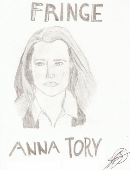 Anna Torv by Kalel